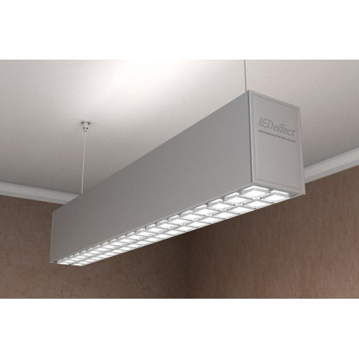 Suspended LED luminaire ARROW OPTIC