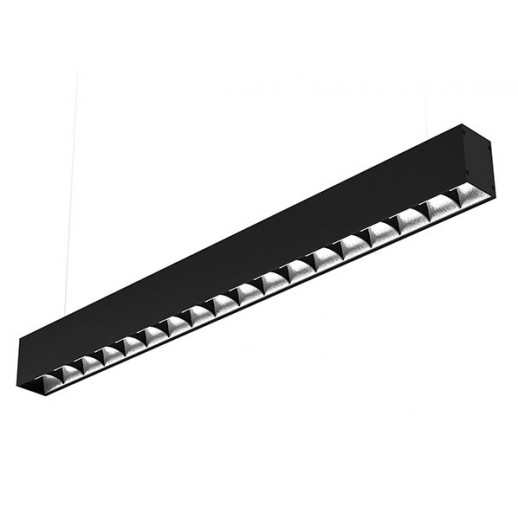 Suspended LED luminaire ARROW UGR 60 W