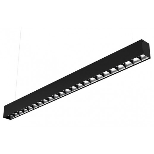 Suspended LED luminaire ARROW UGR 80 W