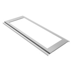 LED luminaire OFFICE-IP54 for lathed ceilings 25 W
